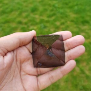 Black Sun Orgonite Pyramid