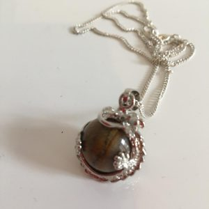 Tigers Eye Dragon Necklace